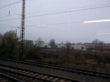 Erste Tourwege in Richtung Magdeburg (2.12. 2.013)