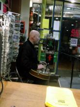 Ferdy Doernberg live at 25 Music Store (Pic 2), Hannover (4.12. 2.013),