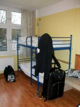 Am Tage in Hamburg im Hostel (5.12. 2.013)