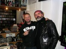Danny B Helm & Karl Nagel @ Remedy Records Store, Hamburg (5.12. 2.013)