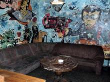 Chill Out Lounge der Unterkunft in Köln. (7.12. 2.013)