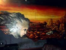 Wand-Kunst im Underground, Köln. (7.12. 2.013)