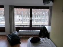 Gefühlter Luxus im Hotelzimmer in Düsseldorf (8.12. 2.013)