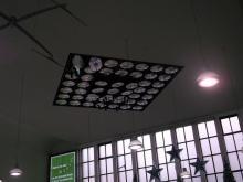 Überwachungsrelikte(?) im Düsseldorfer Bahnhof (9.12. 2.013)