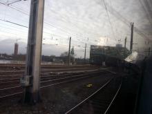 über Köln in Richtung Stuttgart unterwegs (9.12. 2.013)