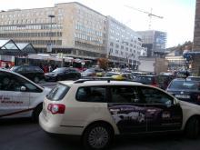 Ankunft in Stuttgart (9.12 2.013)