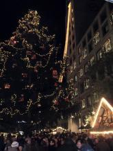 Weihnachtsmarktkonsummassen Impression, Stuttgart (10.12. 2.013)