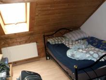 Mein Zimmer in Gutenstetten, herrliches Unterdachidyll (14.12. 2.013)