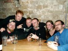 """Jan Z., MMB Friedhelm, Danny B Helm, Renè """"Bassallica"""" und zwei Dresdener @ Studentenclub Bärenzwinger (16.12. 2.013)"""