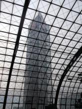 Mahnmal profitgeneigter Firmenpolitik, Zwischenstation Hauptbahnhof Berlin (18.12. 2.013)
