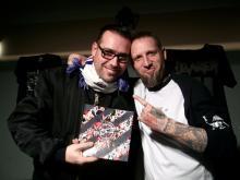 Special Guest Hinkel [Volxsturm] & Danny B Helm @ Headbangers HRC, Schwerin (18.12. 2.013)