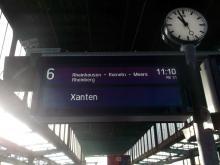 Auf dem Weg nach Rheinberg. Zielgerade. (20.12. 2.013)