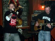 Saiten-Punk Rock alter Tage
